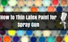 thin latex paint