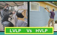LVLP vs HVLP
