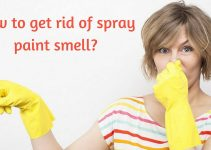 How to get rid of spray paint smell_