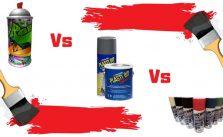 Spray Paint vs Plasti Dip vs Powder Coat