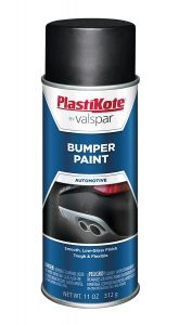 PlastiKote 616 Black Bumper Paint, 11 oz