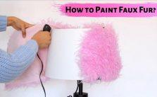 How to Paint Faux Fur