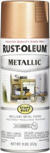 Rust-Oleum Metallic Spray Paint – Rose Gold